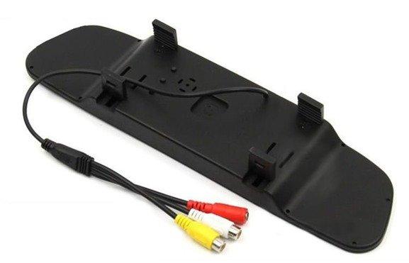"""Bezprzewodowa kamera cofania +  wyświetlaczem 4,3"""" w lusterku wstecznym + moduły WiFi CP543+CAM TABL + WiFi"""