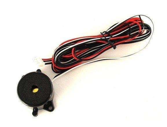 Czujniki cofania z buzzerem 4 sensory 18mm CP10M4W