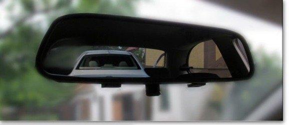 Czujniki cofania z kamerą i wyświetlaczem LCD 4,3 w lusterku wstecznym