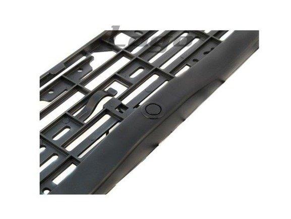 Czujniki parkowania w ramce tablicy rejestracyjnej + buzzer + wyświetlacz LED