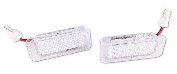 Lampki LED podświetlenia tablicy rejestracyjnej FORD FOCUS MK2 II C-MAX