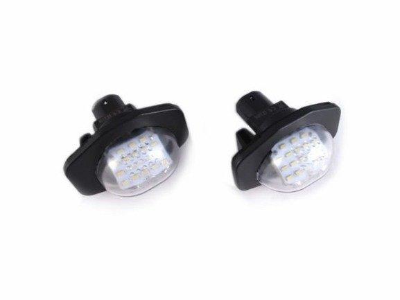 Lampki LED podświetlenia tablicy rejestracyjnej TOYOTA COROLLA AURIS