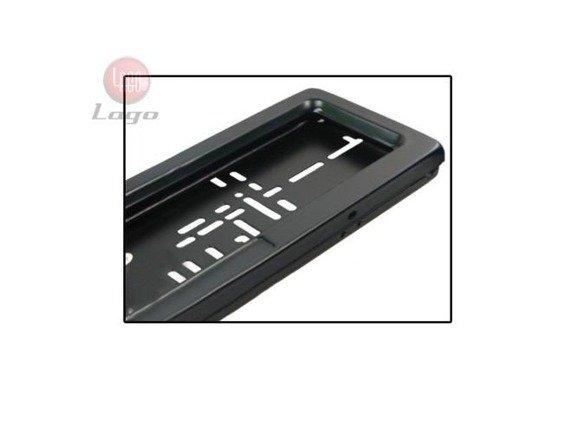 Ramki na tablice rejestracyjną z roletą / żaluzją