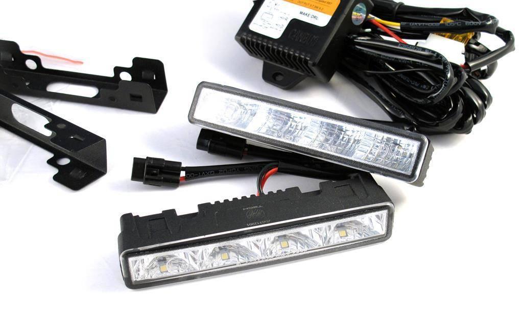 Światła do jazdy dziennej DRL 905 HP OSRAM LED 8x 1 Wat, niewielkie wymiary - tylko 125mm szerokości