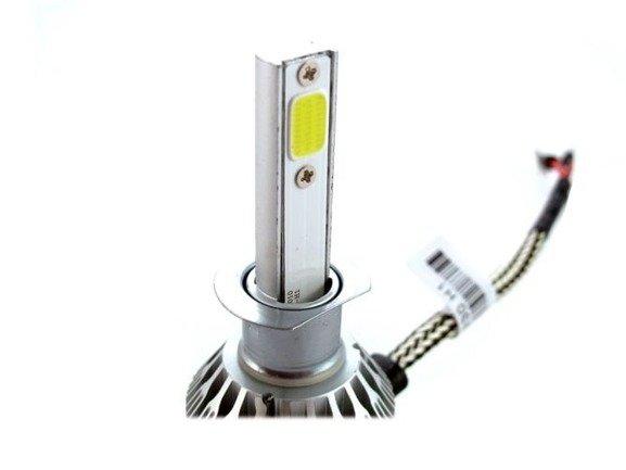 Zestaw żarówek LED H1 COB 12-24V 72W 7600LM L330 LAGO